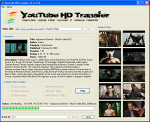 YouTube HD Transfer download