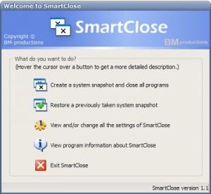 smart close