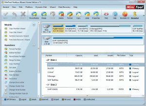 MiniTool Partition Wizard (Home)